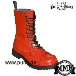 Boots in fire red, 10 Loch