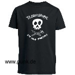 Eat your parents T-Shirt, schwarz