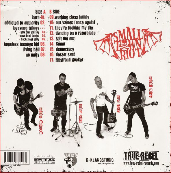 Small Town Riot: Selftitled LP