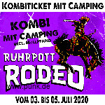 : HardTicket Kombi-Ticket inkl. Camping Rodeo 2020